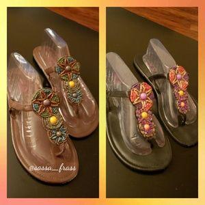 Torrid Sandal Bundle, Size 12W  EUC